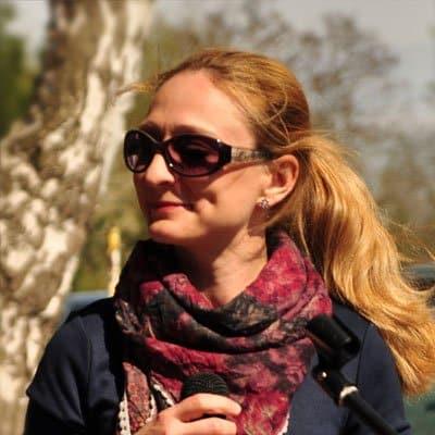 Dana Kreyer von Kitchen Radio im Saalekiez Mai 2016